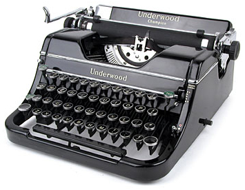 I Miss Typewriters (1/6)
