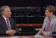 Zack with Bill Maher