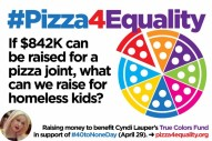 A GOOD reason for a gofund me! http://www.gofundme.com/pizza4equality