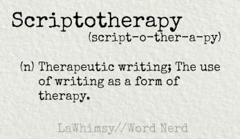 scriptotherapy